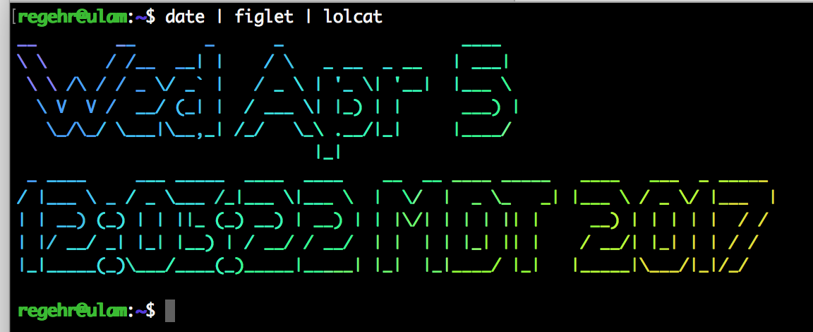 Fun at the UNIX Terminal Part 1 – Embedded in Academia